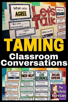 Have you ever stood there and waited for your class to get quiet, growing whiskers and collecting dust?  LOL.  Meaningful, learning conversations are ESSENTIAL in all classrooms.  Here are some tips for making that happen.  Smart ideas!