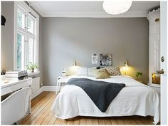 Best bedrooms of the Web on decokidsnco.over-blog.com chambres à coucher crisp and clean cosy