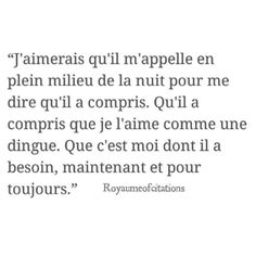 Image about text in Citations , Quotes by Reine Sans Diadème French Words, French Quotes, Sad Quotes, Love Quotes, Inspirational Quotes, Trust Quotes, Pretty Words, Beautiful Words, Sweet Words