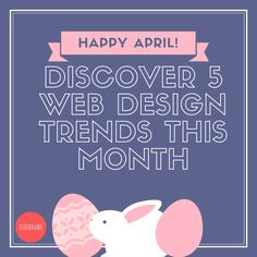 It's a brand new month! Discover 5 web design trends in 2017 with us and improve your website today!  1. Make use of bold fonts and white space  2. Utilize gradient bright colors 3. Ensure design is consistent throughout all platforms/devices 4. Increase use of bots for conversations 5. Use web design to fight unverified information  Look out for more tips and tricks upcoming!