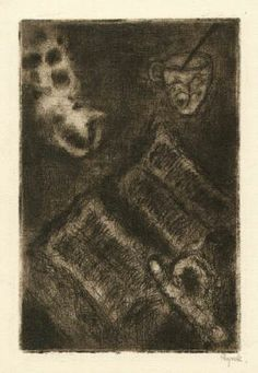 Bohuslav Reynek Zátiší v kuchyni / Still Life in the Kitchen suchá jehla / dry point 14,8 x 9,9 cm, 1960, opus G 461