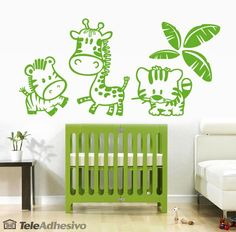Vinilos Infantiles: Zoo 3