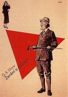 Ladislav Sutnar - George Bernhard Shaw, 1932