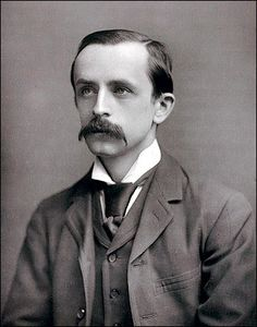 "J.M. Barrie is related to two books that I love: the first is his fairy tale ""Peter Pan"". The second is Andrew Birkin's ""J.M.Barrie & The Lost Boys"", the biography of Barrie: a well documented, moving book that helped me discover many layers of theme to Peter Pan beyond that of a charming story for children. I wonder what Barrie would make of the biography given a note scrawled across the pages of one of his last notebooks ""May God blast anyone who writes a biography of me""!"