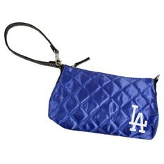 MLB Los Angeles Dodgers Quilted Wristlet, Royal by Little Earth. $12.58. This officially licensed MLB Quilted Wristlet, manufactured by Pro-FAN-ity by Littlearth, is the perfect purse for the fashion-forward sports-fan. These purses combine details like rich satin quilting and faux leather trim and an embroidered team logo.