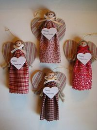 Clothespin Ornaments,