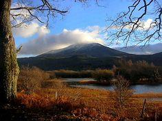 Schiehallion... taken from the Kinloch Rannoch Road to Pitlochry, Scotland
