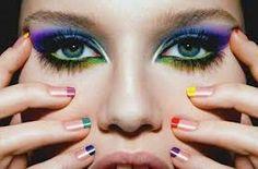 COLOUR blocking makeup -