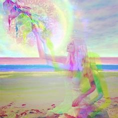 She travels between worlds unlearning thousands of years of conditioning.