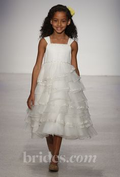 Disney Fairy Tale Weddings by Alfred Angelo Flower Girl Dresses - Fall/Winter 2013 Flowergirl Dresses | Brides.com