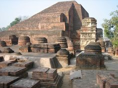 Ruins of Nalanda University -- Nālandā was an ancient center of higher learning in India. The site of Nalanda is located in the Indian state of Bihar, about 88 kilometers south east of Patna, and was a Buddhist center of learning from the fifth or sixth century CE to 1197 CE. Nalanda flourished between the reign of the Śakrāditya and 1197 CE -- supported by patronage from the Hindu Gupta rulers as well as Buddhist emperors like Harsha and later emperors from the Pala Empire.
