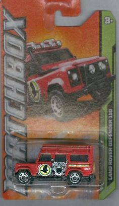"Matchbox 2012-104 MBX Jungle Land Rover Defender 110 RED 1:64 Scale by Mattel. $1.89. Red ""Amazon Sanctuary"" Tampo. Matchbox MBX Jungle 4 of 10"