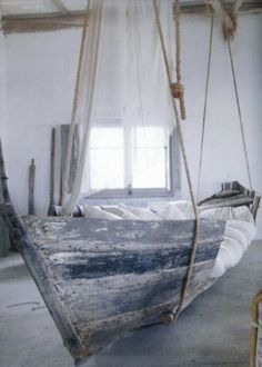 Sail with boat on river or lake is a great thing. But what happens when your boat is no longer in function or just you don't have enough time to seal with it. Your old boat can be used in interior like coffee table or to make working area for the kitchen. In the article we will give you ideas how to re-use your old boat.