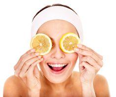 Gommage au citron pour le visage pour peaux grasse mixte ou sèche