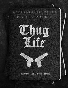 Black and White thug picture Gangster guns thug life gangster rap passport marieejohanna Gangster Rap, Gangster Girl, Thug Life Quotes, Tupac Makaveli, Tupac Shakur, 2pac, American Rappers, Secret Love, Bad Girl Aesthetic