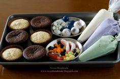 haloween+cupcake+ideas+and+decorations   Halloween Cupcake Kit