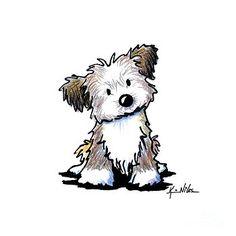 Havanese Puppy by Kim Niles