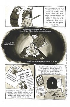 "This Heartbreaking Comic Shows Exactly Why We Need Asian-Black Solidarity Against Police Brutality Check out Kayan Cheung-Miaw's ""Dear Brother"" here."