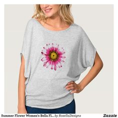Summer Flower Women's Bella Flowy Circle Top T-shirt