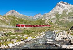 Rhätische Bahn Allegra at Pontresina, Switzerland by Rémi DAUGERON