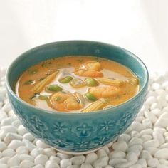 Thai Shrimp Soup Recipe from Taste of Home -- shared by Jessie Grearson-Sapat of Falmouth, Maine