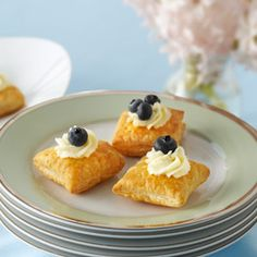 Pepperidge Farm® Puff Pastry - Recipe Detail - Mascarpone & Berry Pillows