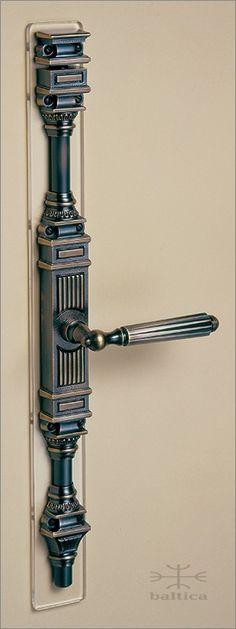 Gabriel cremone bolt - antique bronze - Custom Door Hardware Window Handles, Window Hardware, Home Hardware, Door Handles, Decorative Door Knobs, Cremone Bolt, Door Furniture, Furniture Design, Stairs And Doors