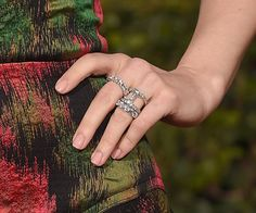Pin for Later: Mit diesen Maniküren verpassen die Stars ihrem Look den letzten Schliff Rachel McAdams, Golden Globe Awards