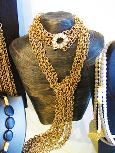 Make a bold statement with this necklace #fashion