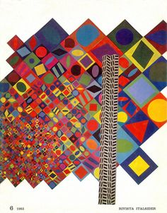 Victor Vasarely for Italsider, 1963