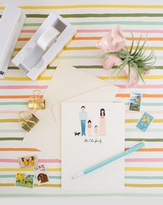 an illustrated family portrait... | Oh Joy! | Bloglovin'
