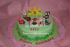 #Peppa Pig Cake #Torta Peppa Pig #