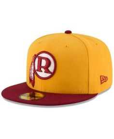 1ed5683657a6d New Era Washington Redskins Team Basic 59FIFTY Fitted Cap - Gold 7 3 8 Caps