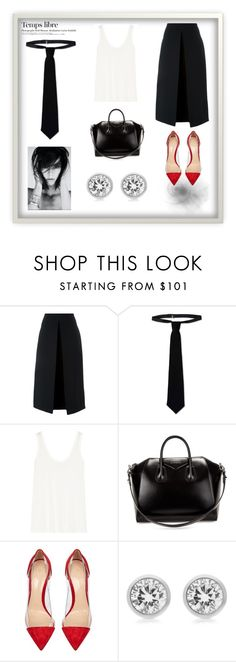 """""""Para ellas. Androgino"""" by jasonegasta on Polyvore featuring moda, McQ by Alexander McQueen, RED Valentino, The Row, Givenchy, Gianvito Rossi, Michael Kors y Hedi Slimane"""