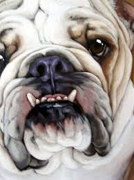 bulldog art #DogPainting