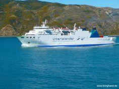 Fähre in Neuseeland von Wellington nach Picton.  #Fähre #Neuseeland #Tasmanien #Australien #Transport #Reisen #interislander