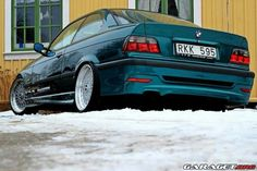BMW E36 325i green