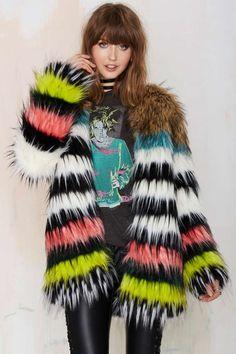 Bohème Total Softy Faux Fur Coat