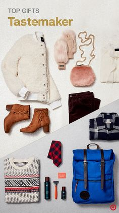 Simplify your holiday shopping experience by getting unique, on-trend finds  for the fashionista or dapper one at Target. From faux-fur mittens and ... fb4e2df334