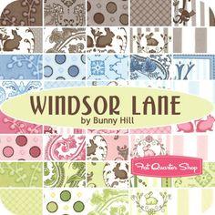 Windsor Lane Fat Quarter Bundle Bunny Hill Designs for Moda Fabrics - Fat Quarter Shop