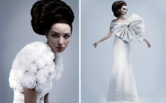 These #wedding #dresses with their over the top #bows and flowers are incredible - Google Search