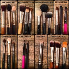 Every lady should always use the right brushes, especially when it comes to…