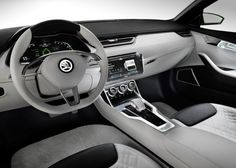 2014 Skoda Vision C Coupe Series Car Interior Design, Interior Concept, Automotive Design, Ulzzang Kids, Car Posters, Poster Poster, Vans, Bike, Mousepad