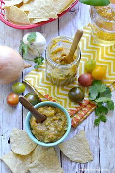 Roasted Heirloom Salsa - Fork & Beans