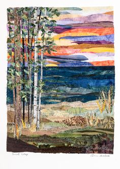 Sunset Collage Quilt | Quilts By Ann