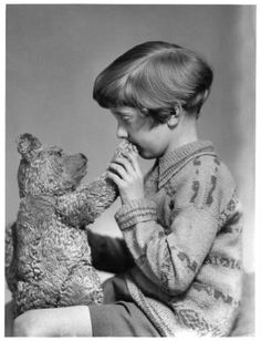 Meet the Real Winnie-the-Pooh and Christopher Robin in 1926
