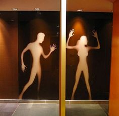 Here are some of the the most creative, funniest, unusual and bizarre toilet signs.Check out 10 Most Creative Bathroom Signs below. Bathroom Doors, Bathroom Humor, Bathroom Signs, Washroom, Quirky Bathroom, Wayfinding Signage, Signage Design, Wc Public, Toilet Signage