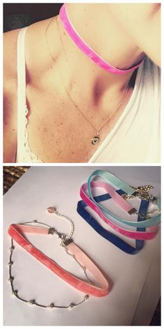 DIY Delicate Velvet ChokerMake this quick and easy on trend DIY Velvet Choker with just a few supplies. Velvet ribbon is so cheap, you can make several in different colors. For more DIY Chokers go here. Find the DIY Velvet Choker Tutorial from...
