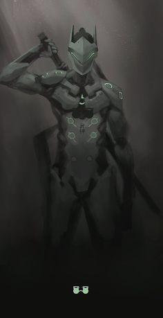 [Overwatch] Genji Shimada by kaerru on DeviantArt