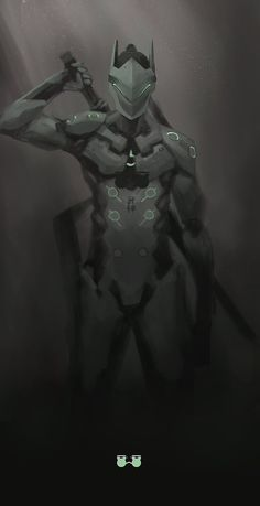 [Overwatch] Genji Shimada by kaerru on DeviantArt